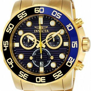 Invicta Men's 21555 Pro Diver Gold-Tone Watch